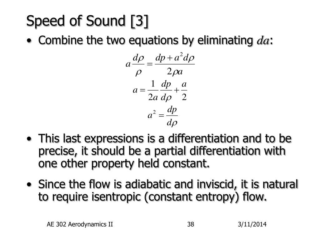Speed of Sound [3]