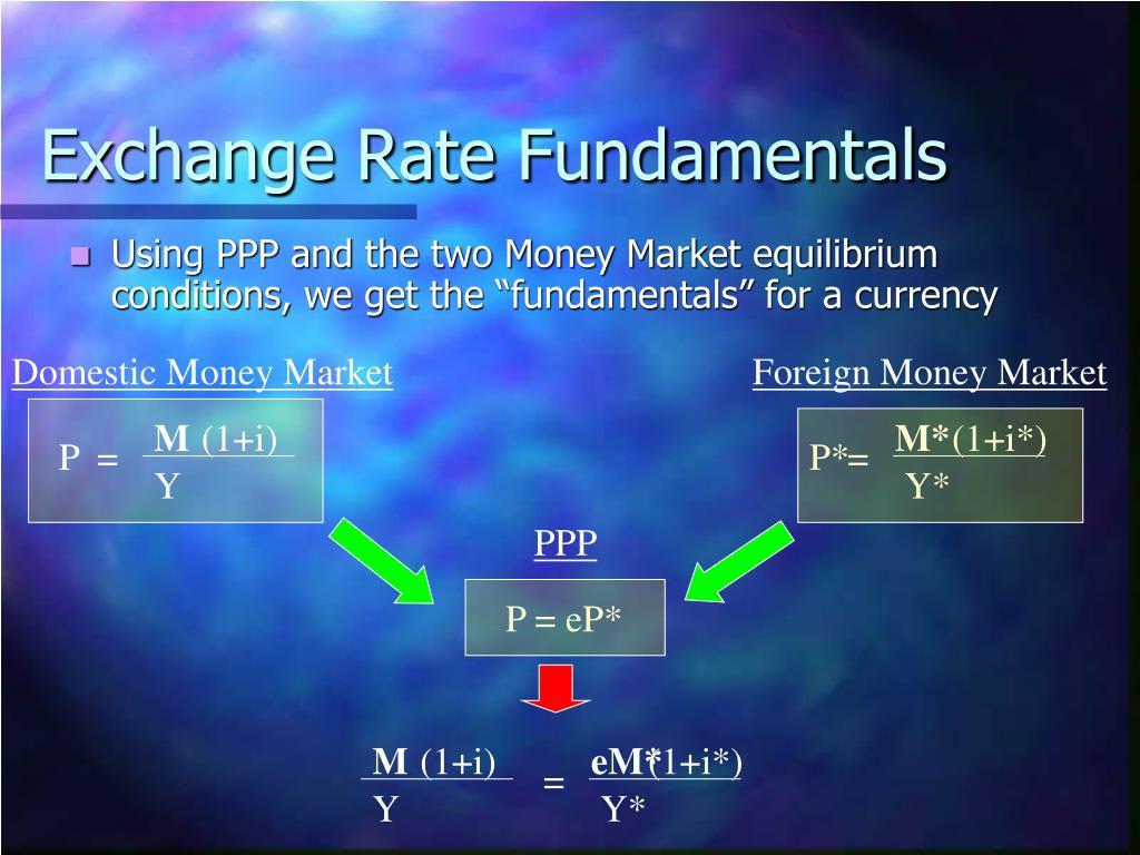 Exchange Rate Fundamentals