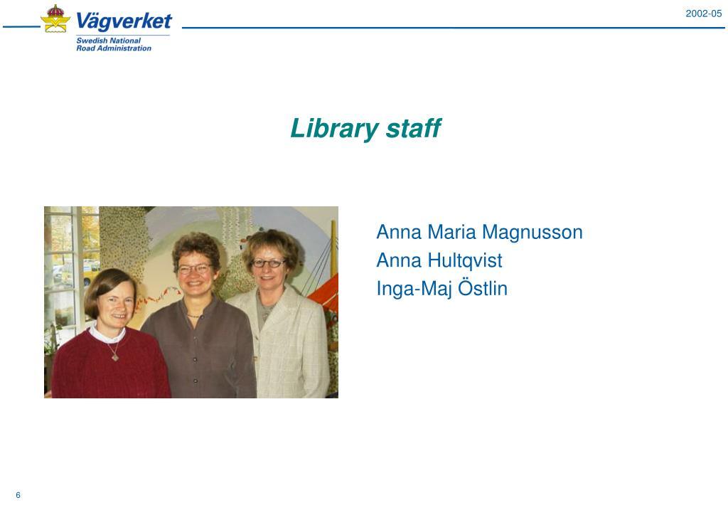 Anna Maria Magnusson