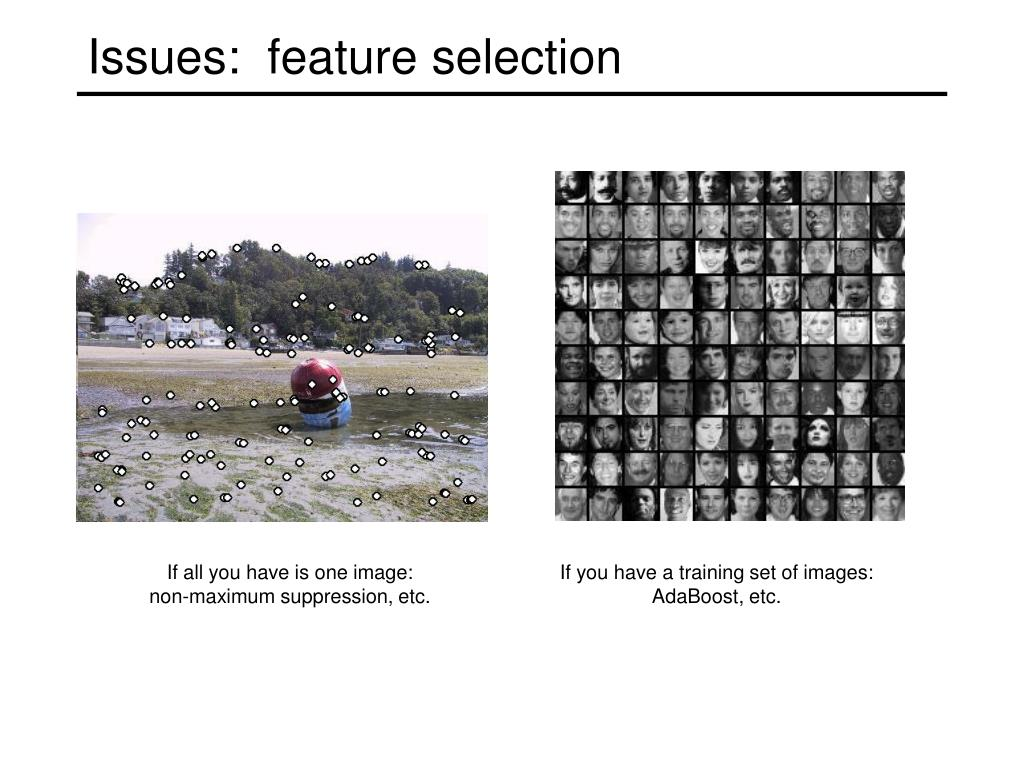 If you have a training set of images:
