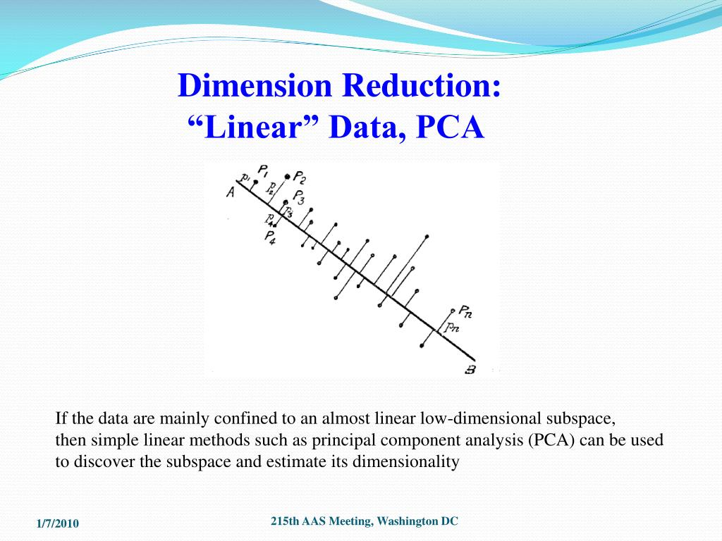 Dimension Reduction: