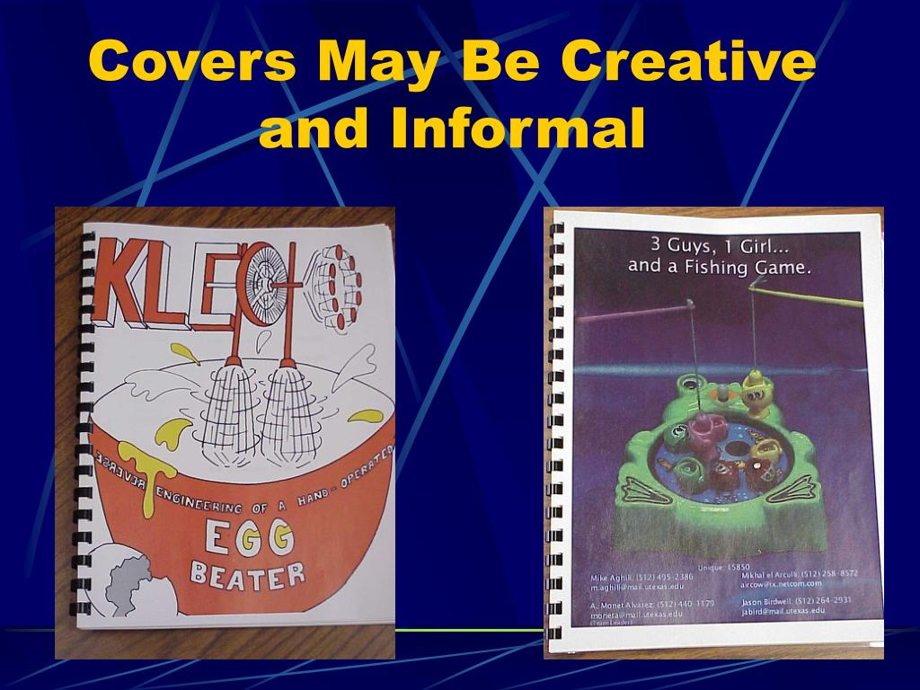 Covers May Be Creative