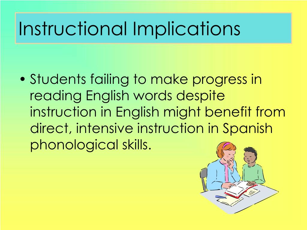 Instructional Implications
