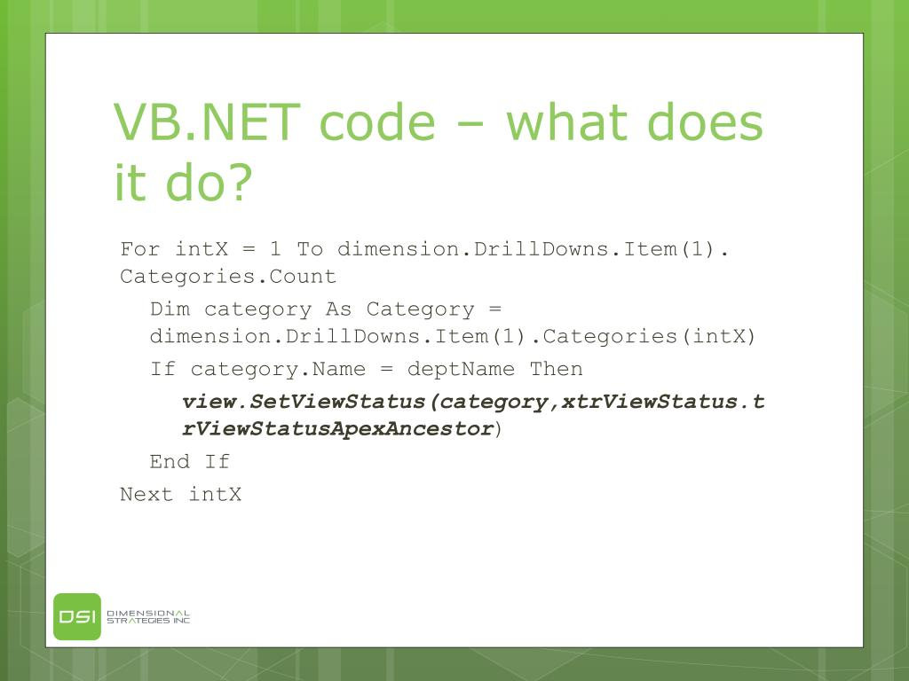 VB.NET code – what does it do?