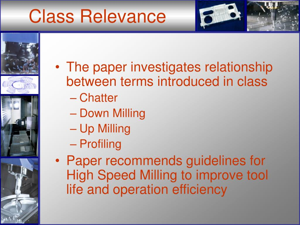 Class Relevance