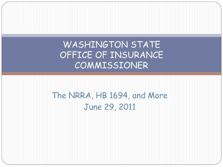 Washington state office of insurance commissioner l.jpg