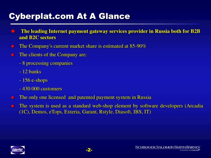 Cyberplat com at a glance