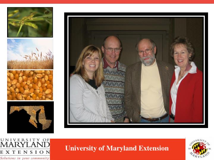 University of maryland extension3