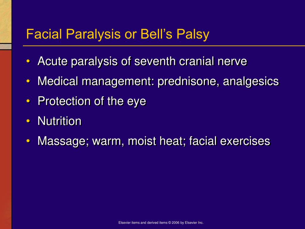 Facial Paralysis or Bell's Palsy