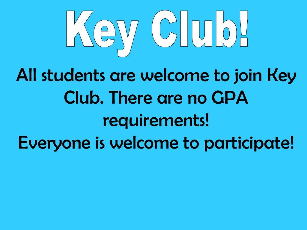 Key Club!