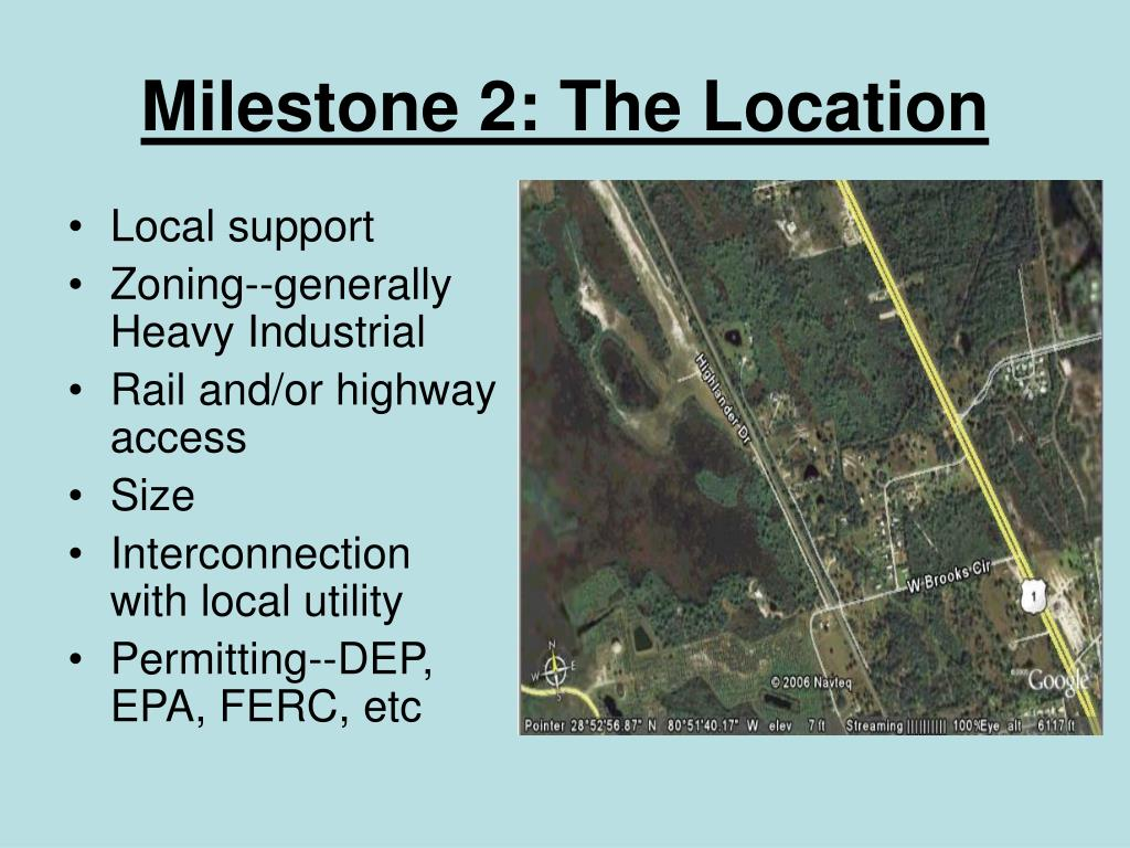 Milestone 2: The Location