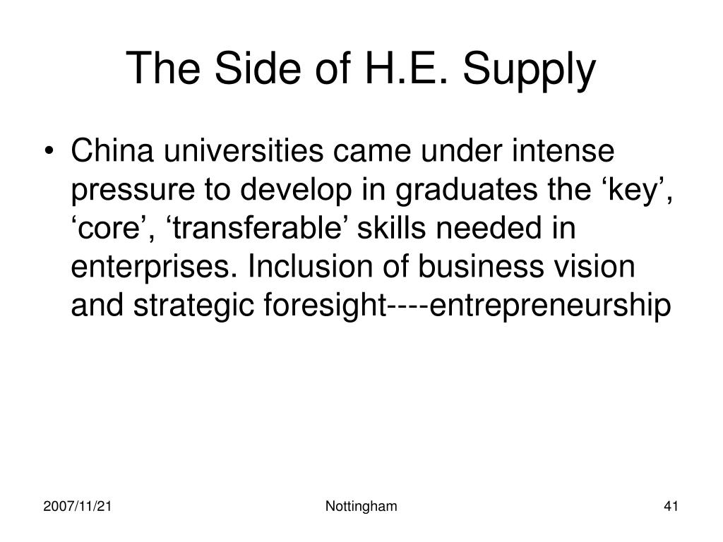 The Side of H.E. Supply