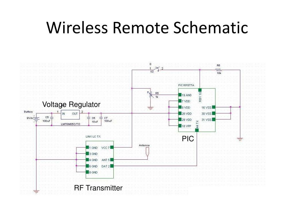 Wireless Remote Schematic