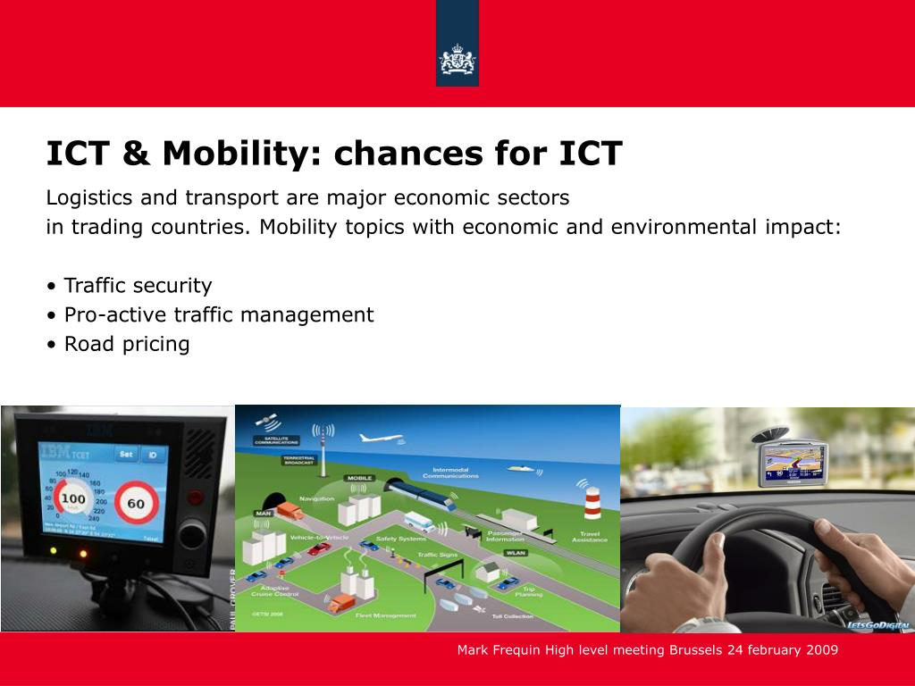 ICT & Mobility: chances for ICT