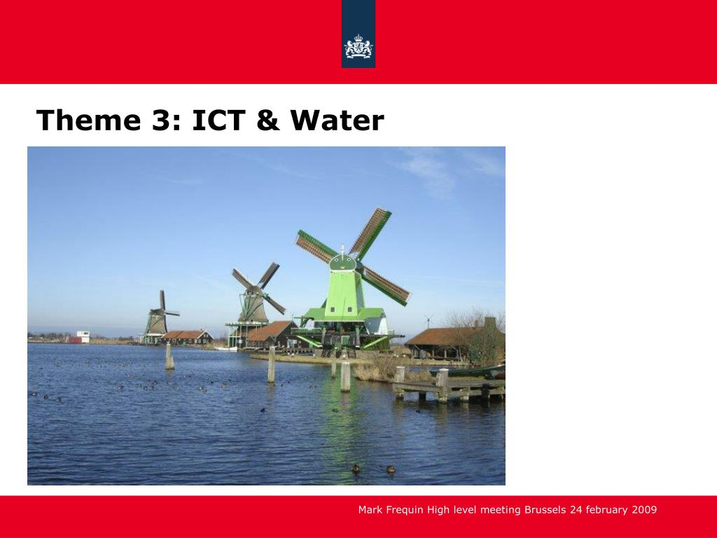 Theme 3: ICT & Water