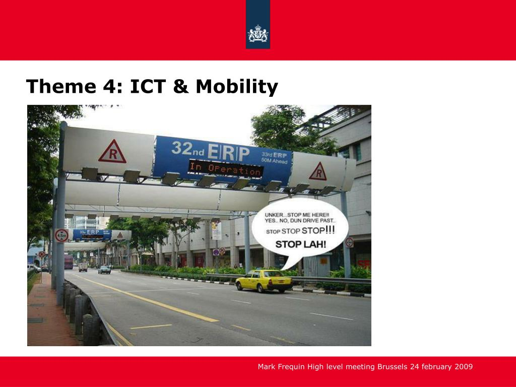Theme 4: ICT & Mobility
