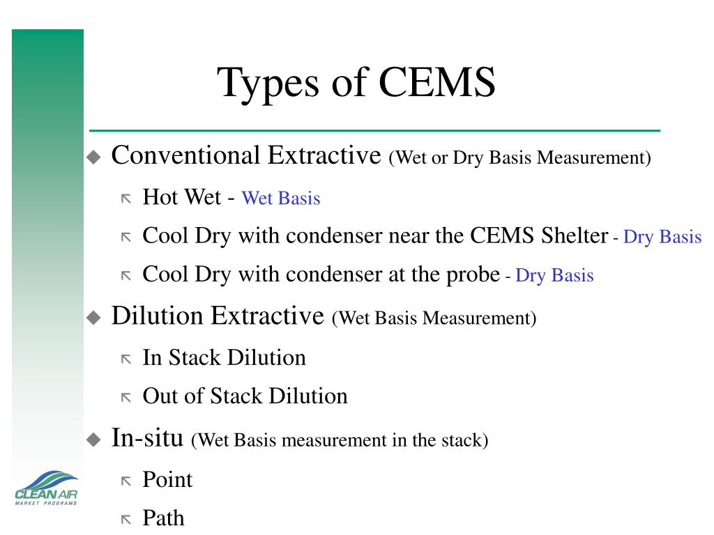 Types of CEMS