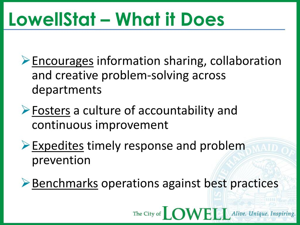 LowellStat – What it Does