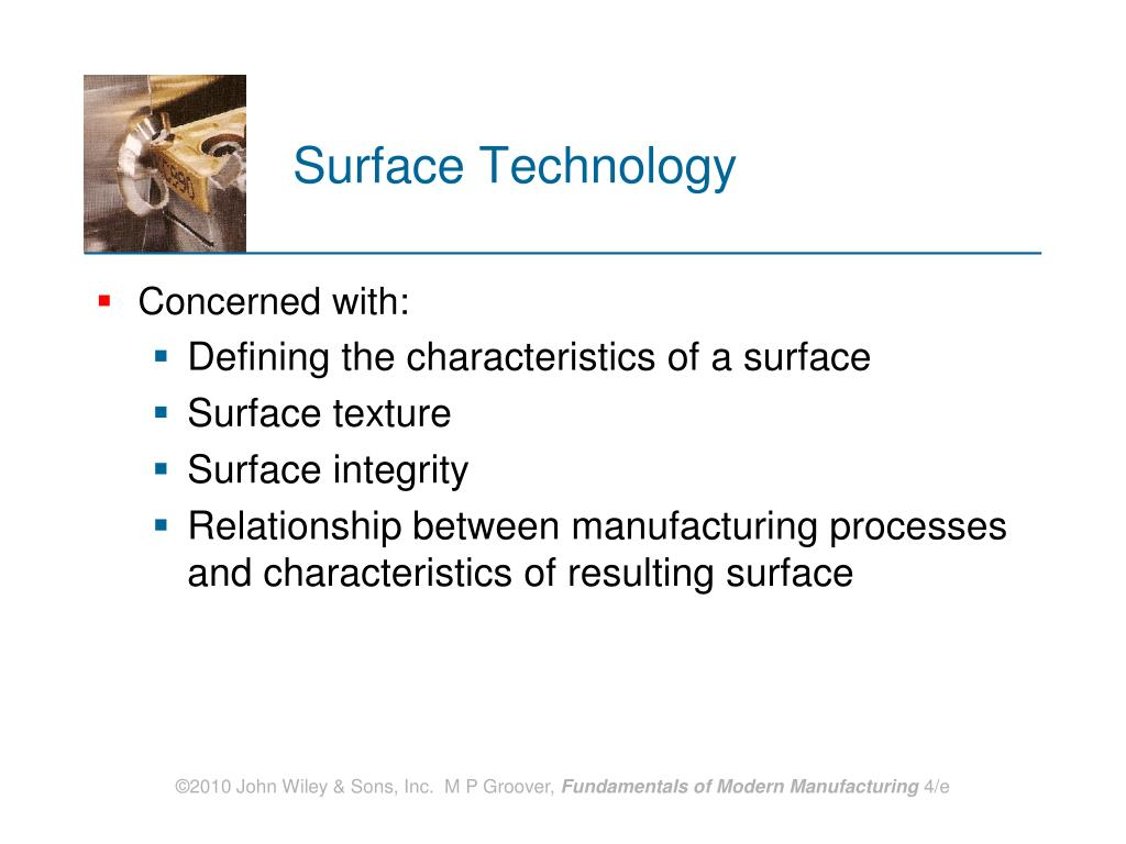 Surface Technology