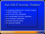 post y2k it security problem