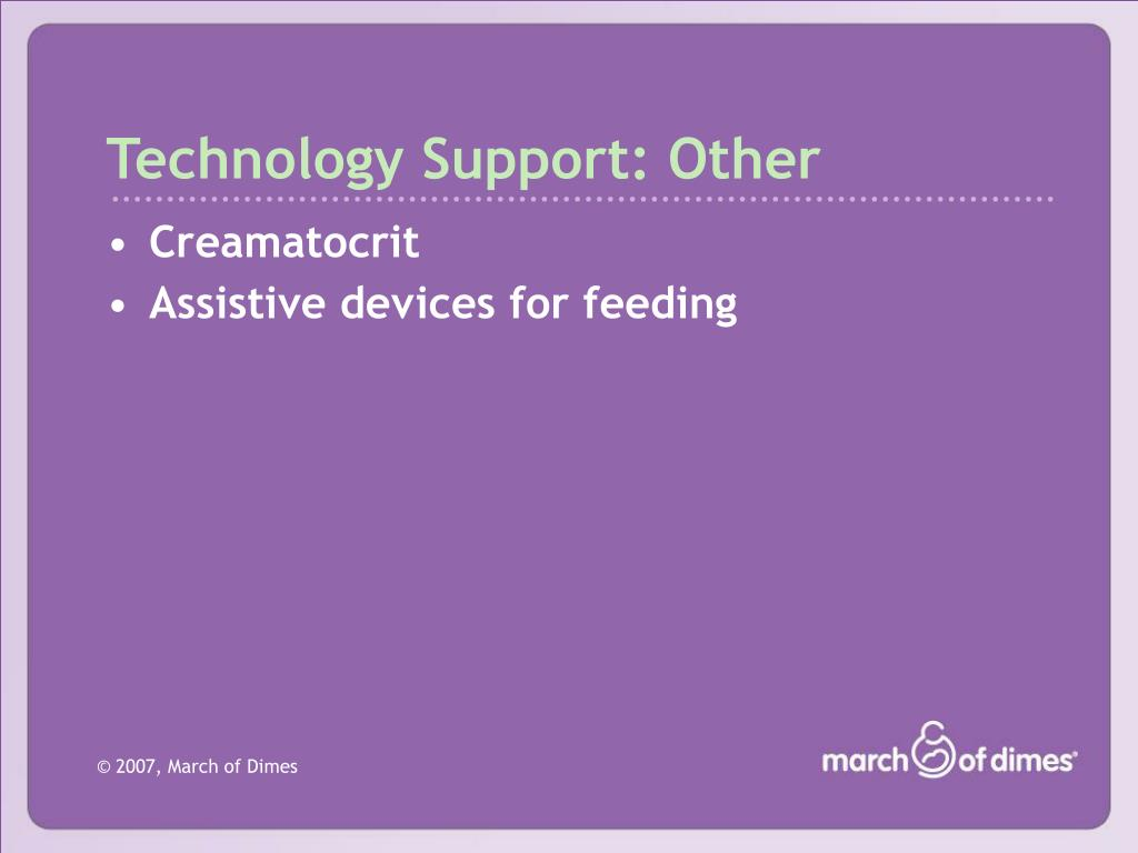 Technology Support: Other