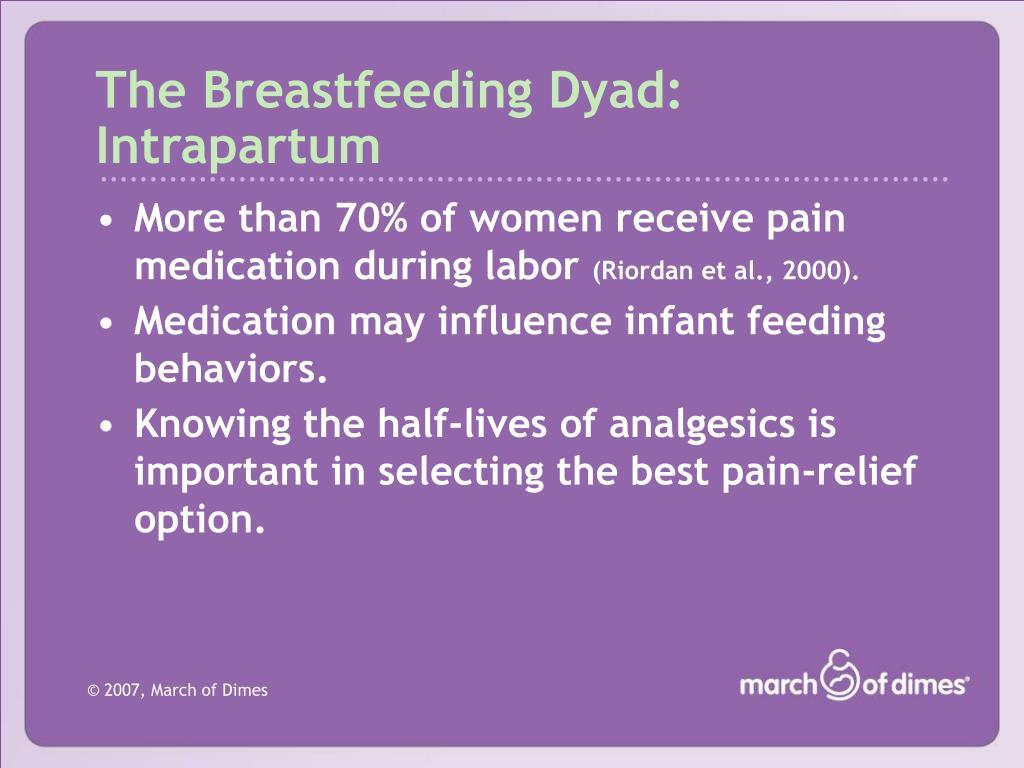 The Breastfeeding Dyad: Intrapartum