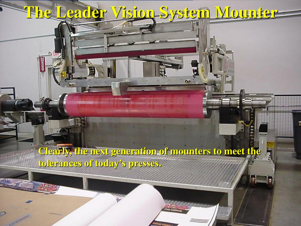 The Leader Vision System Mounter