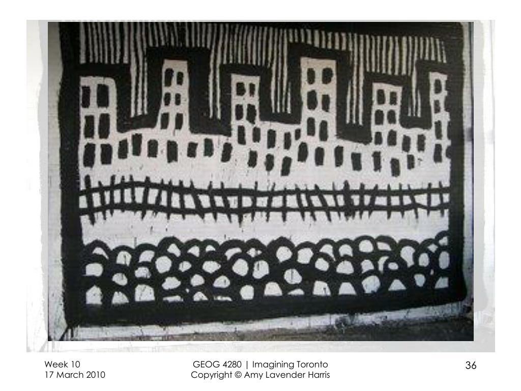 GEOG 4280 | Imagining Toronto