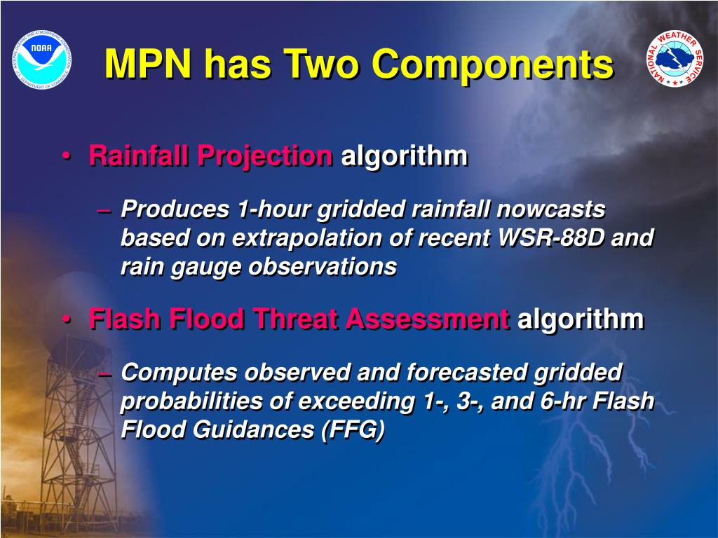 MPN has Two Components