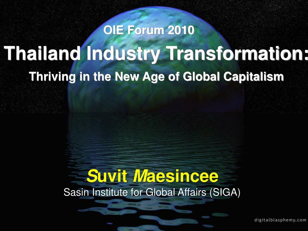 OIE Forum 2010