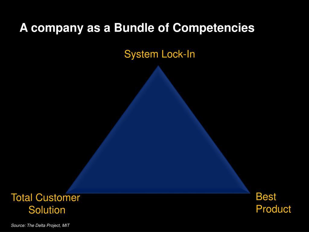 A company as a Bundle of Competencies