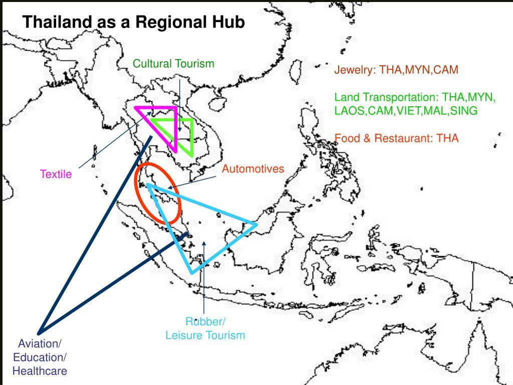 Thailand as a Regional Hub