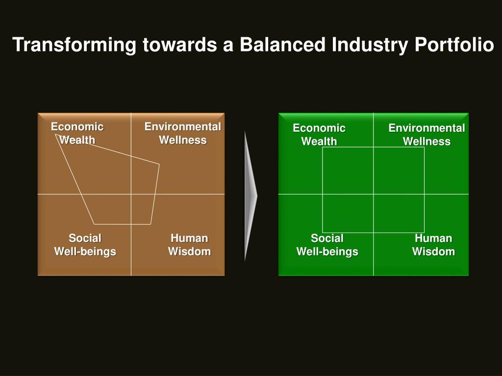 Transforming towards a Balanced Industry Portfolio