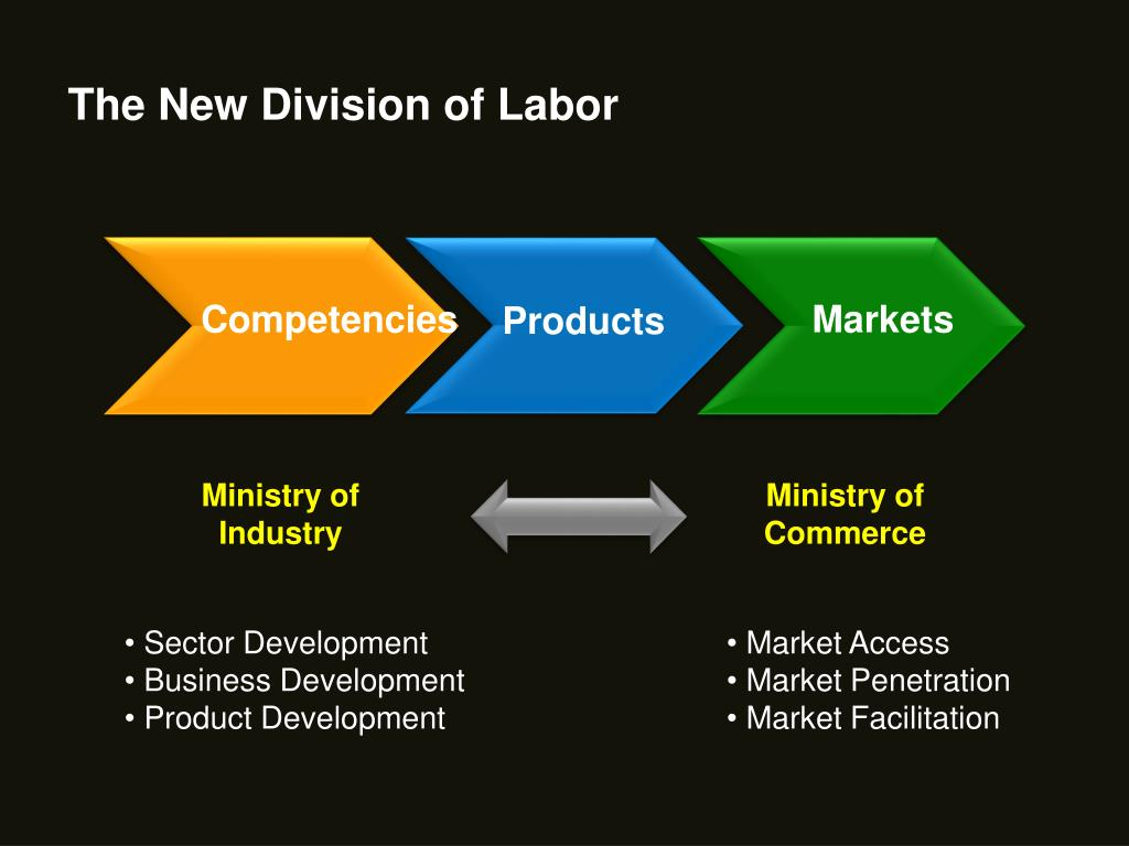 The New Division of Labor
