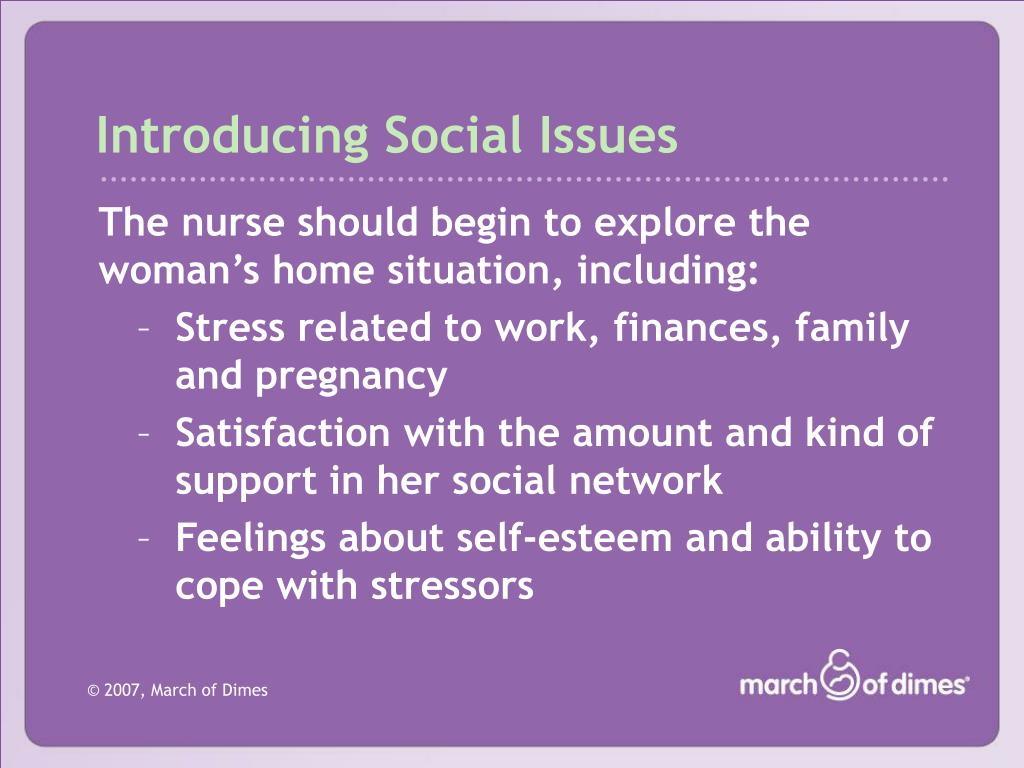 Introducing Social Issues