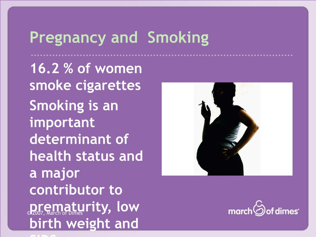 Pregnancy and  Smoking