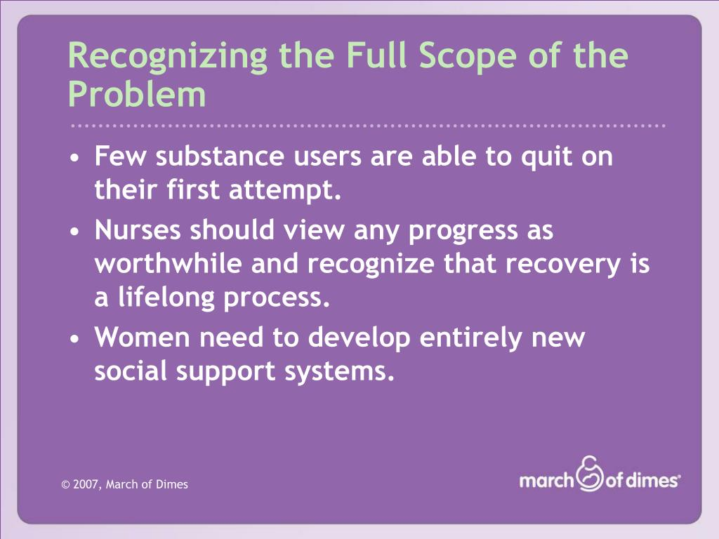 Recognizing the Full Scope of the Problem