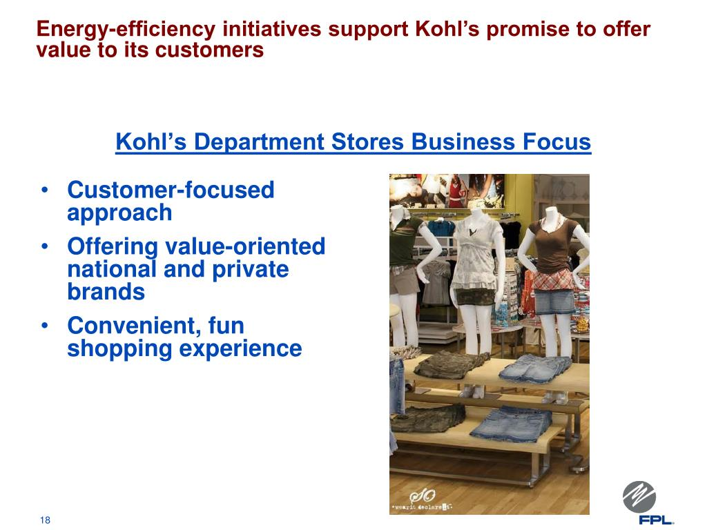 Kohl's Department Stores Business Focus