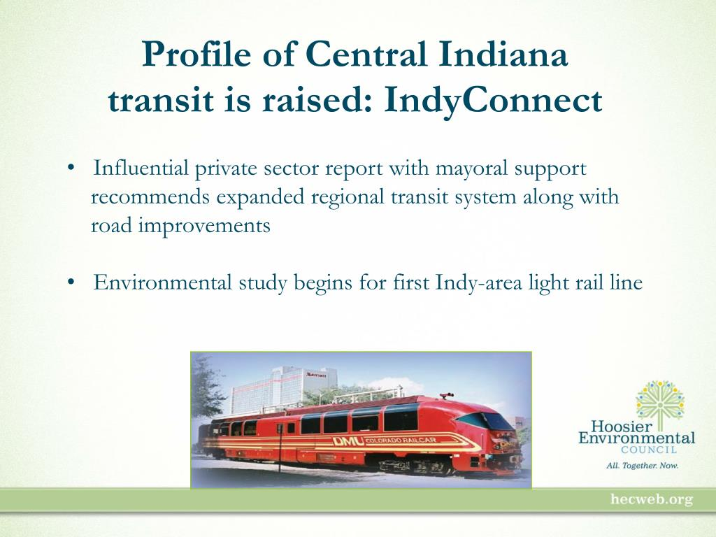 Profile of Central Indiana