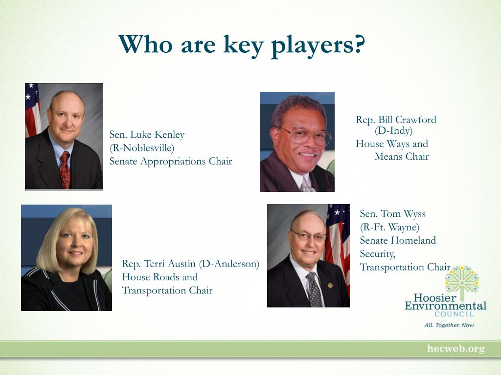 Who are key players?
