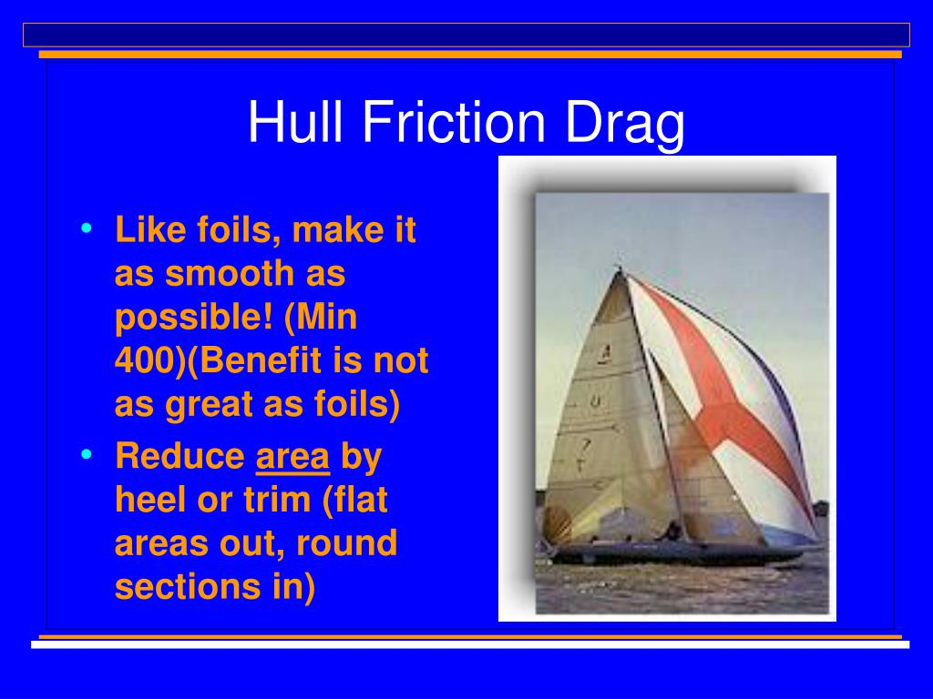 Hull Friction Drag