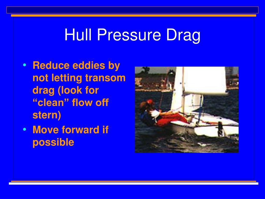 Hull Pressure Drag