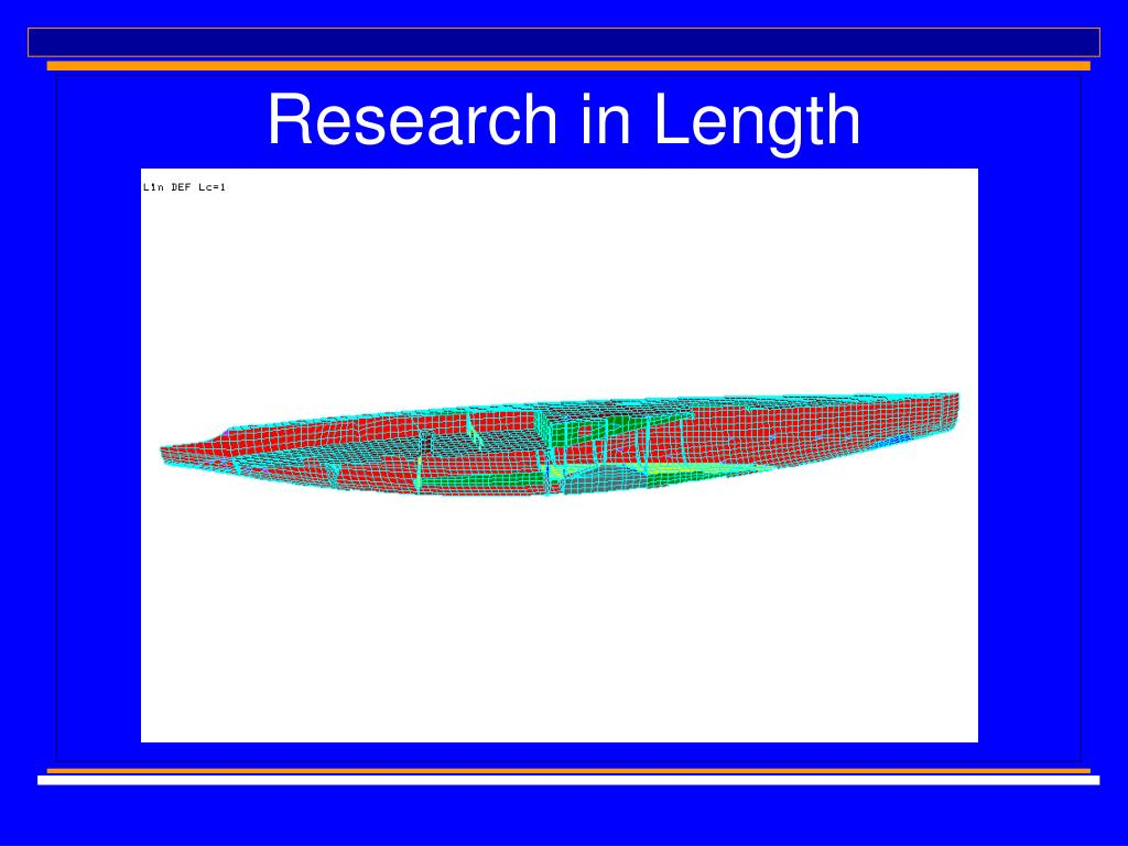 Research in Length