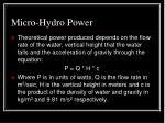 micro hydro power25