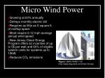 micro wind power