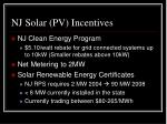 nj solar pv incentives