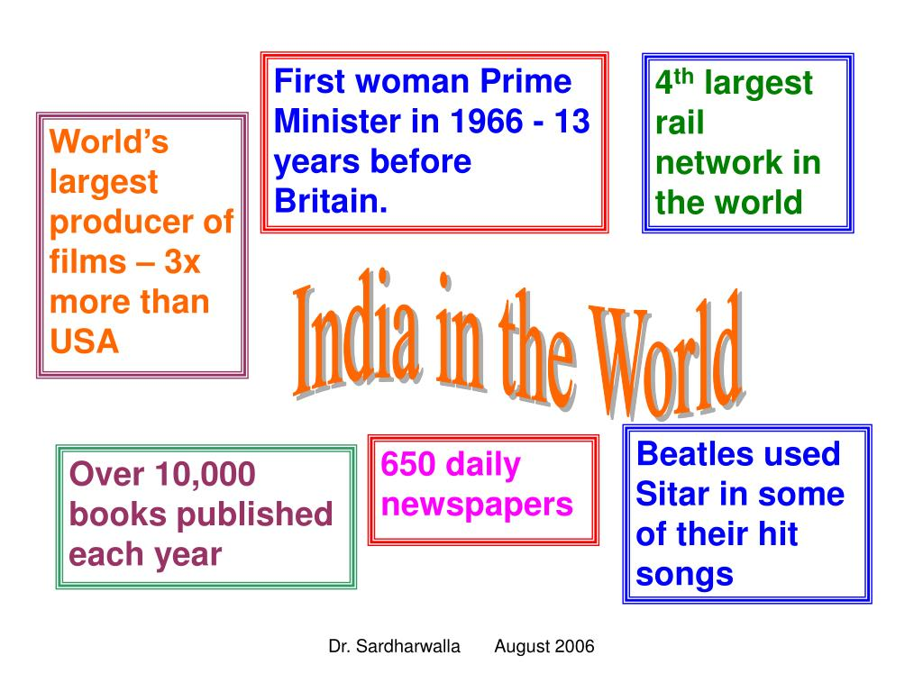 First woman Prime Minister in 1966 - 13 years before Britain.