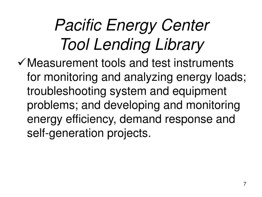 Pacific Energy Center