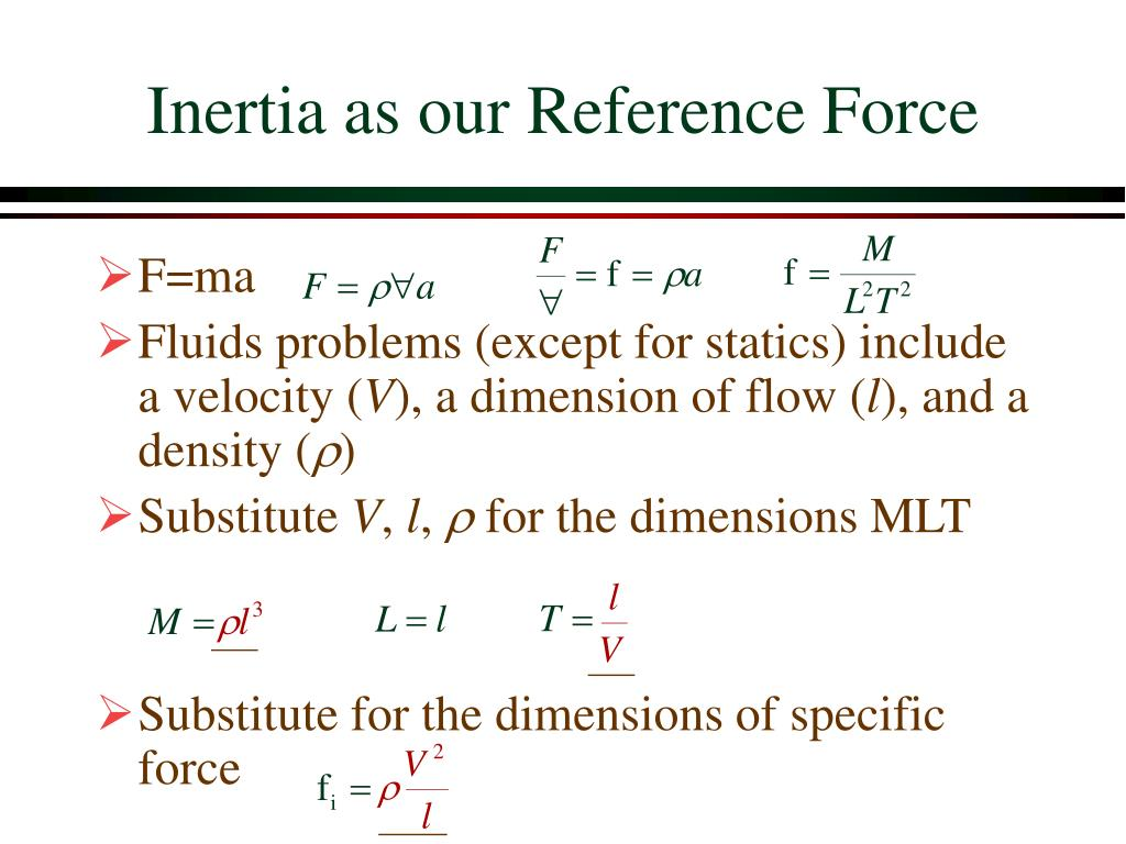 Inertia as our Reference Force