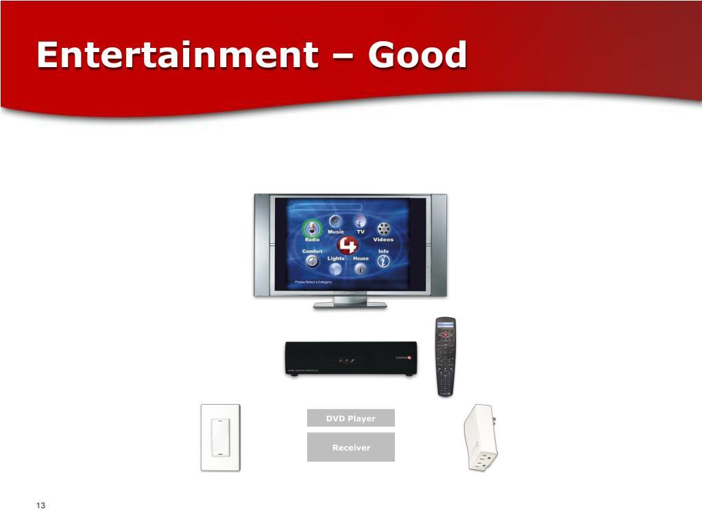 Entertainment – Good